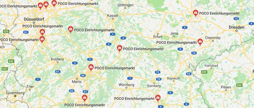 Standorte Poco Angebote